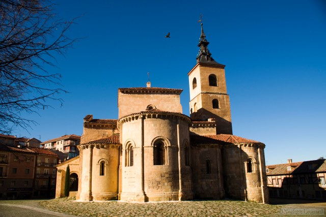 Small church in Segovia